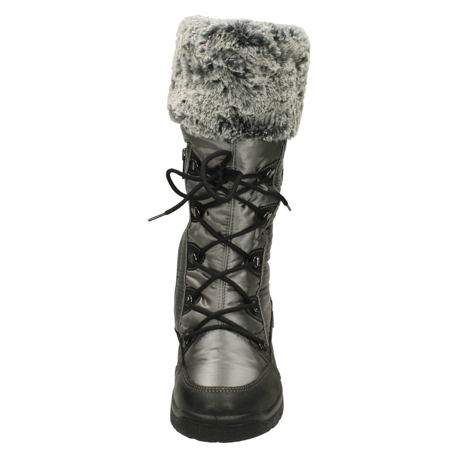grey Dal Ladies Snow black Grey Boots Van Havelock PU0wf