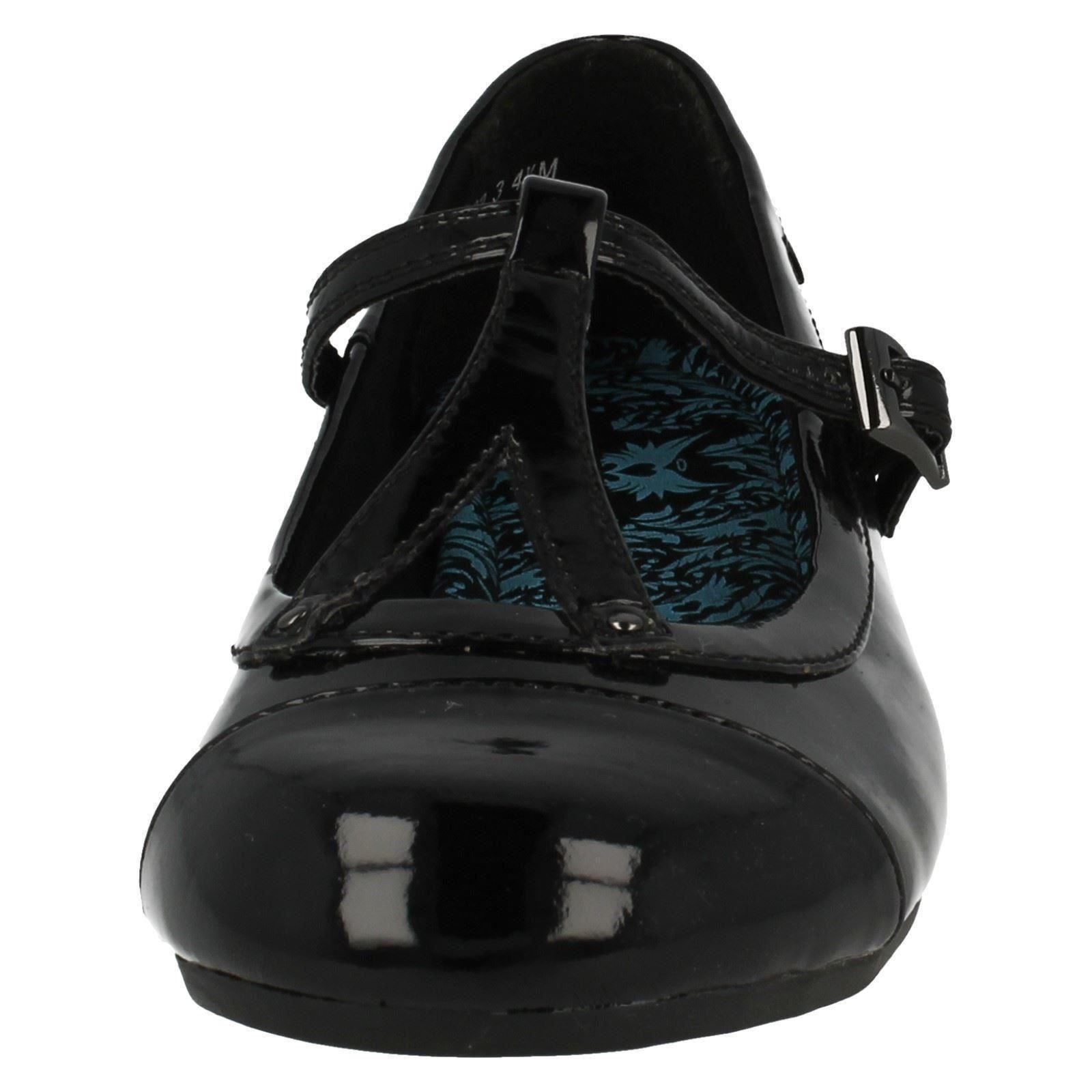 Girls Angry Angels by Startrite T-Bar Formal/School Shoes Stance