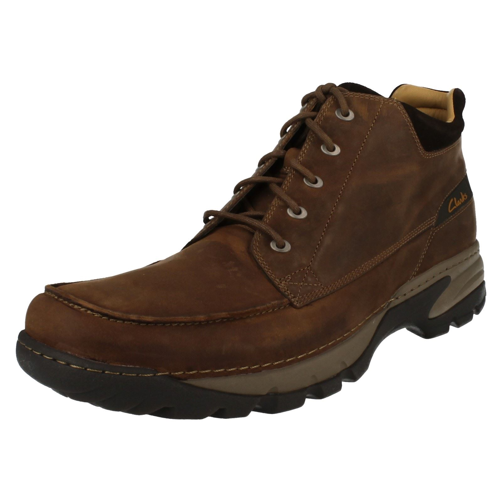 Tobillo marrón Clarks para Botas Render Path hombre tabaco ZXqnR