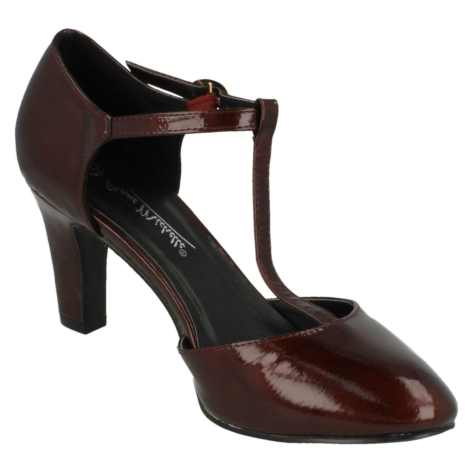Ladies-Anne-Michelle-T-Bar-Smart-Shoes thumbnail 26