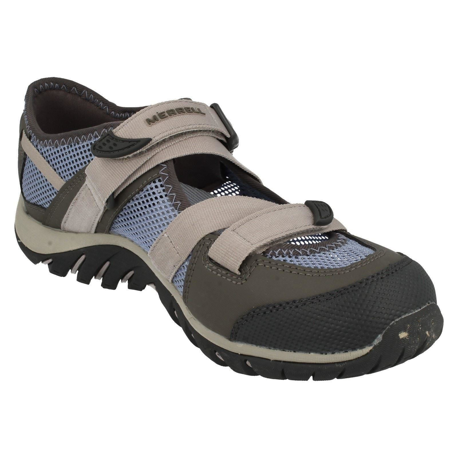 Ladies-Merrell-Buckle-Fastened-Casual-Shoes-Waterpro-Crystal-J82284 thumbnail 8