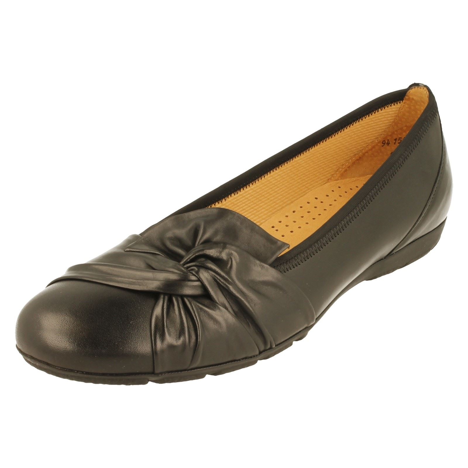 Details about Ladies Gabor Ballerina Shoe '94150'