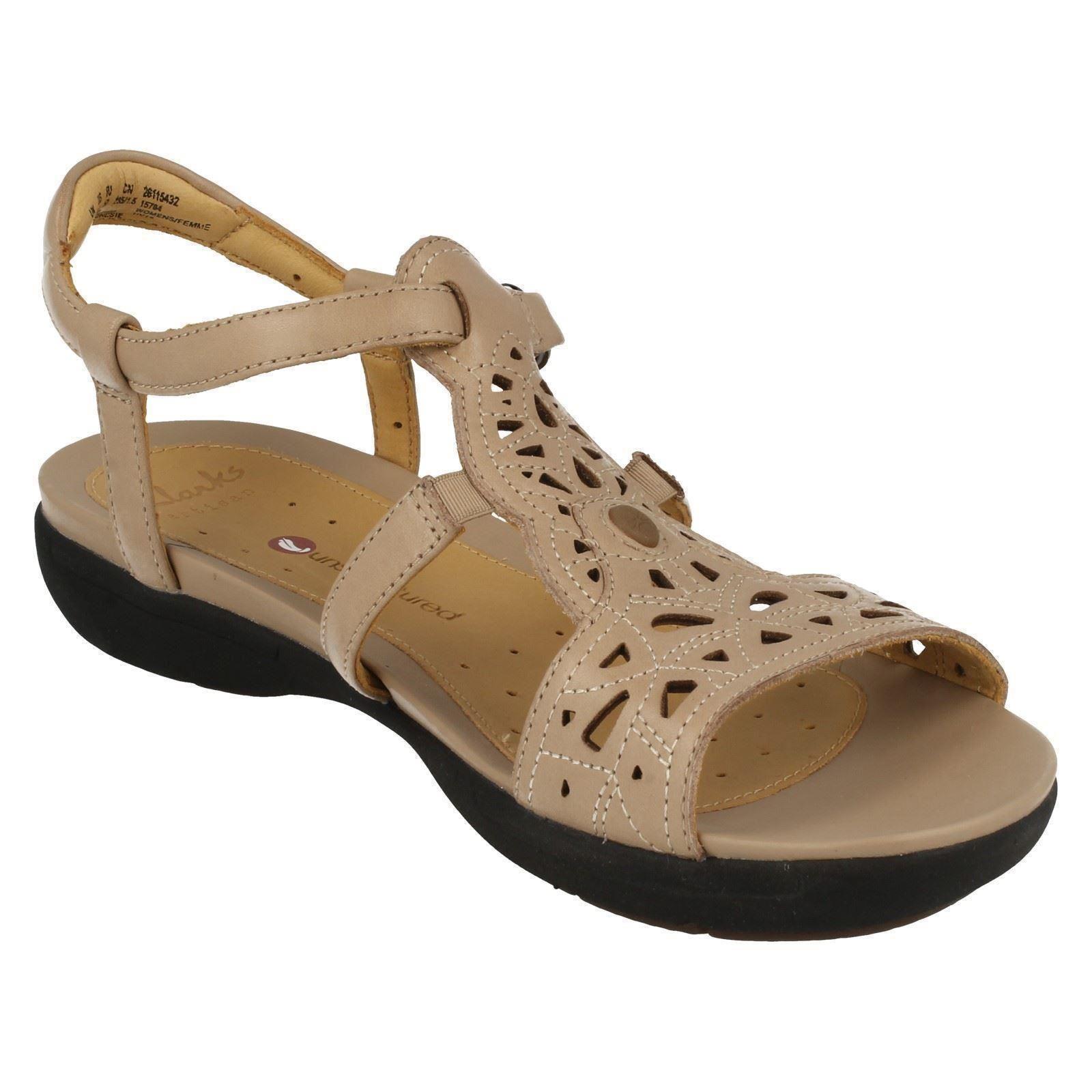 82c6d1800e3 Ladies-Clarks-Unstructured-Sandals-039-Un-Valencia-039 thumbnail