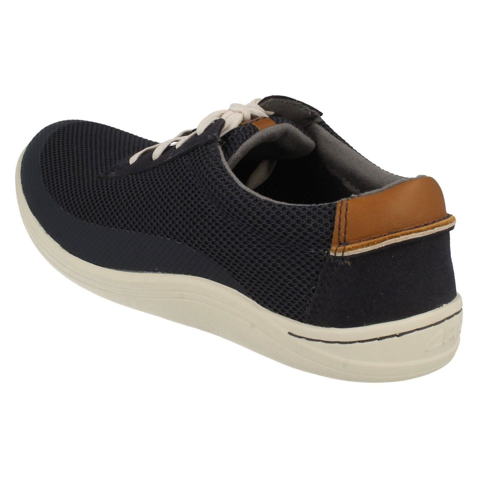 Mens Clarks Casual Lace Up Shoes Mapped Edge
