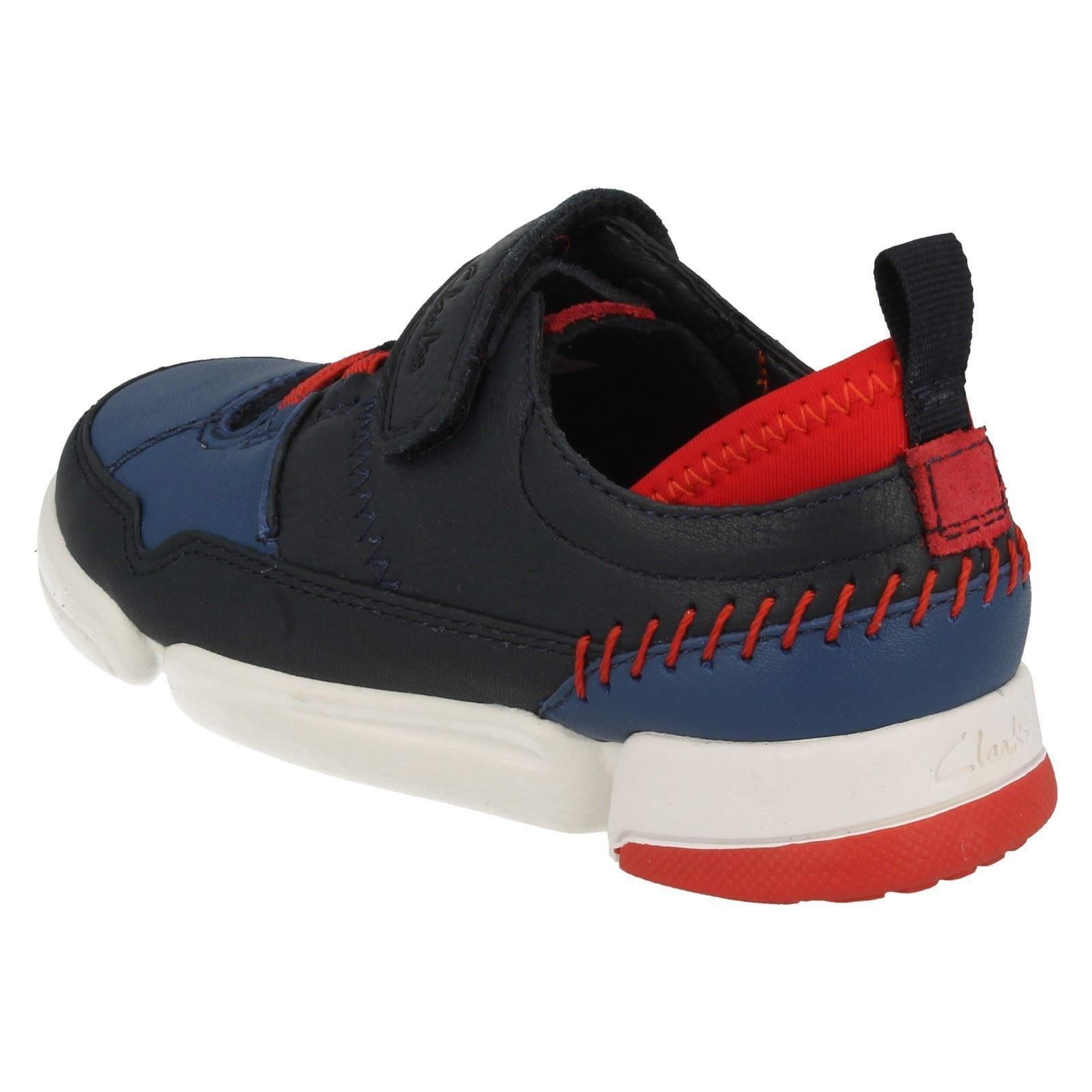 Chicos Casual Shoes Tri Clarks azul Navy Scotty Combi aaUwfrTq
