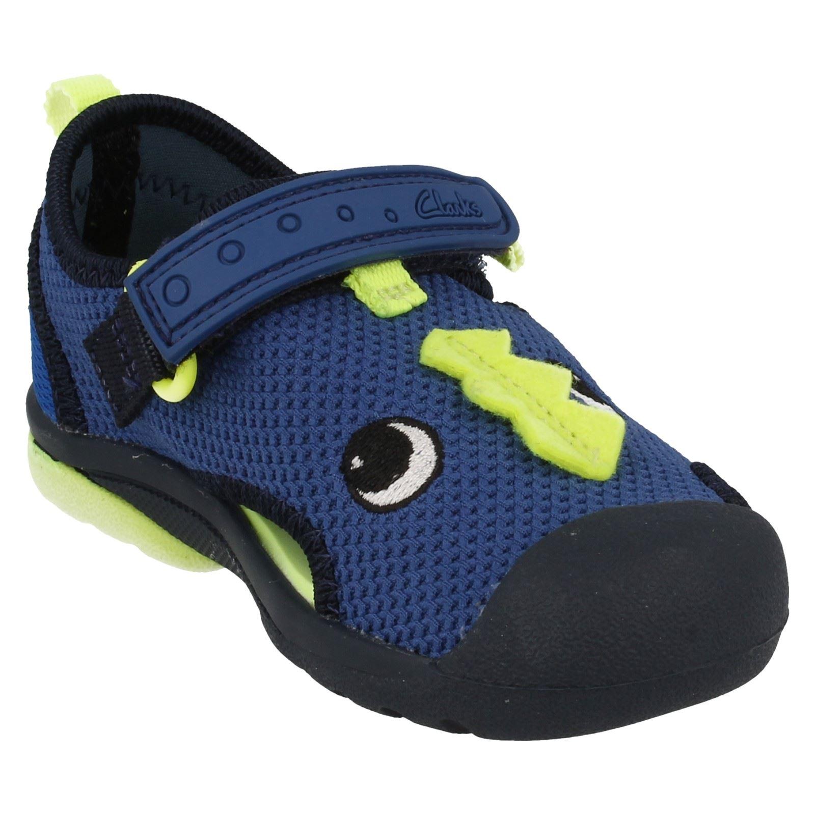 Chicos Clarks Zapatos De Playa Playa Curl