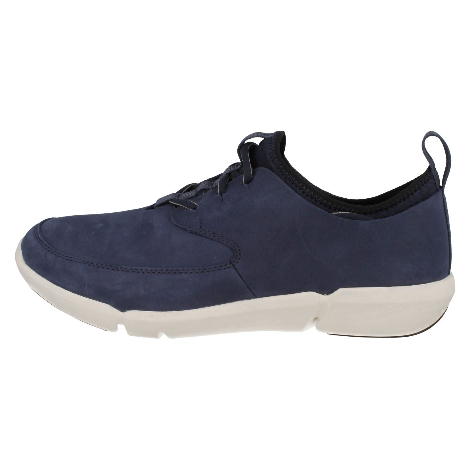 Mens Clarks Lace Up Casual Shoes 'Triflow Form'