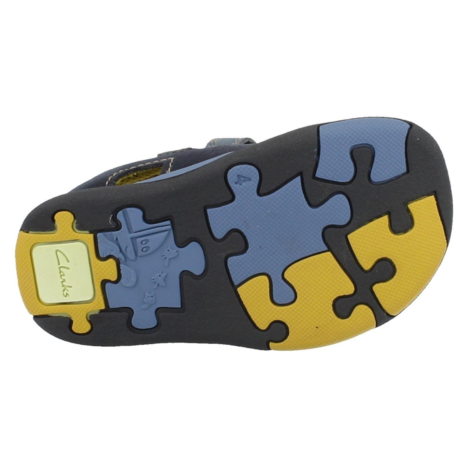 Boys Clarks Sandals Dune Puzzle