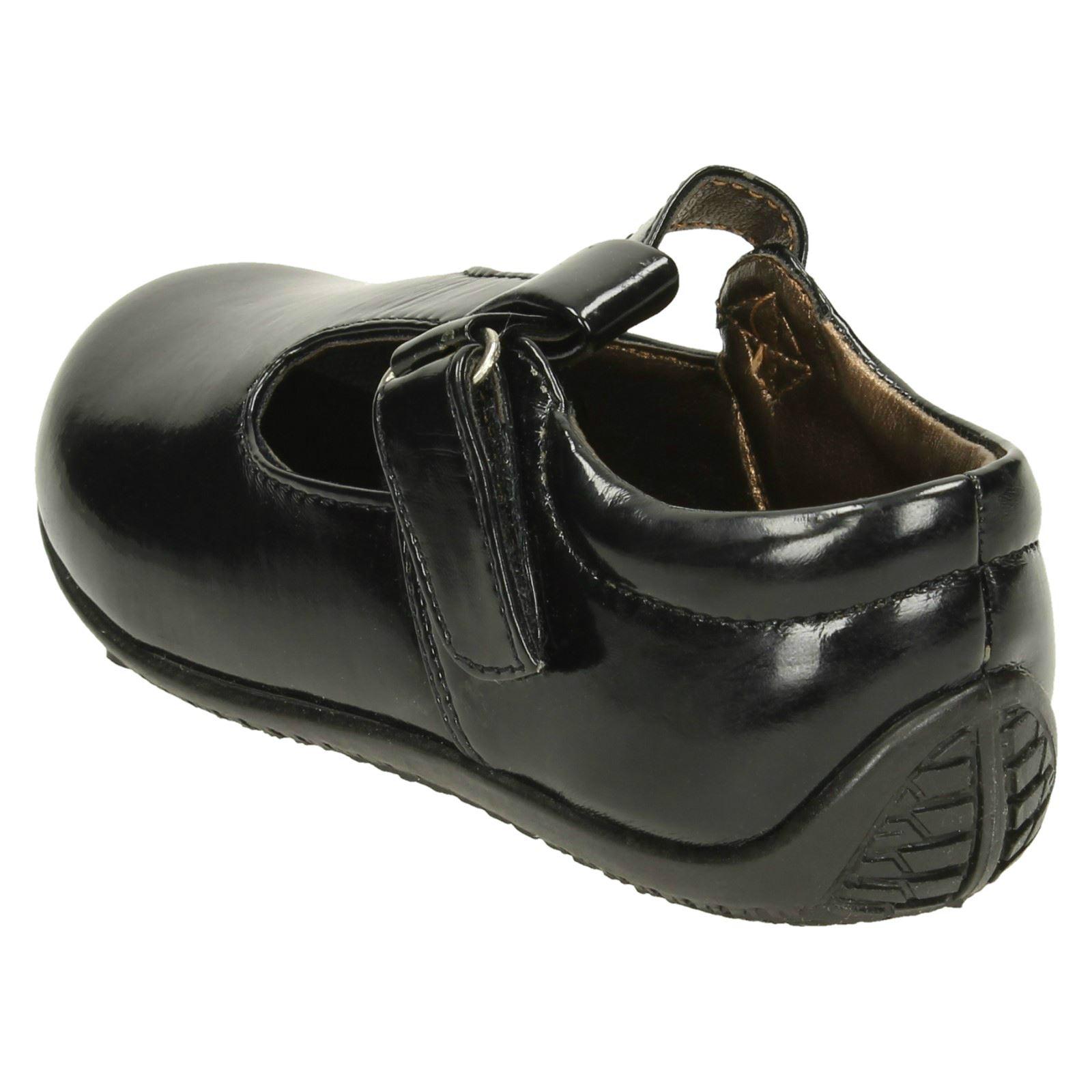 Niñas Punto en T-Bar Zapatos Planos H2131