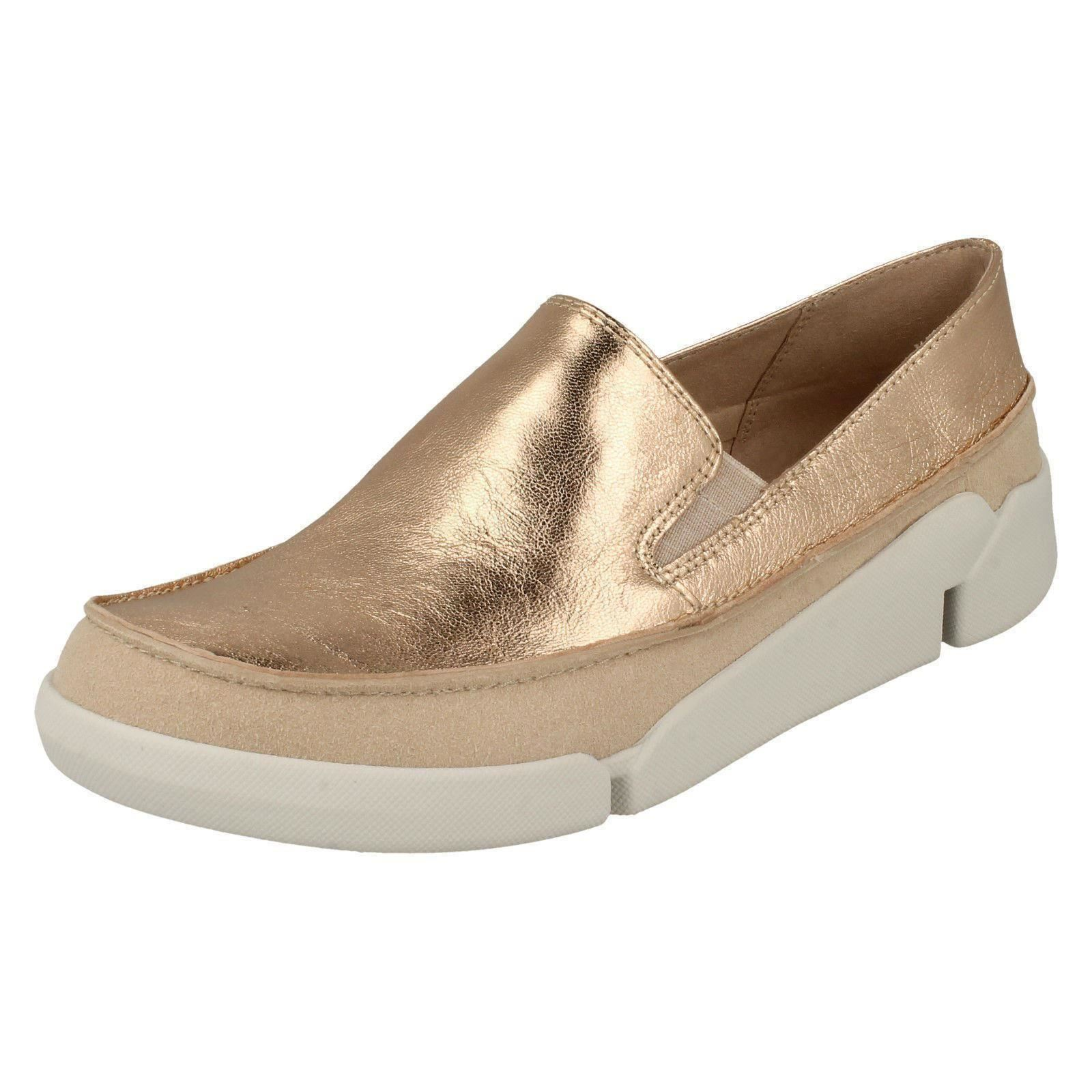 CLARKS Womens Tri Skipp Loafers Shoes