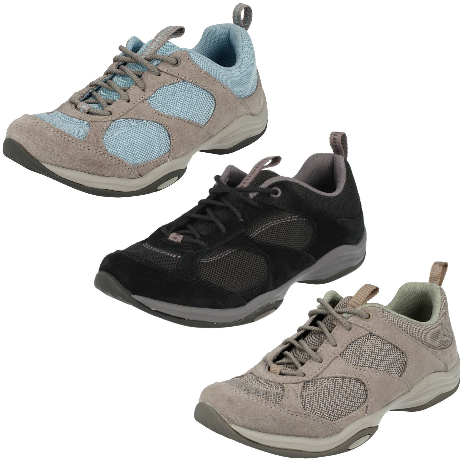 Details about Ladies Clarks Active Wear Trainers