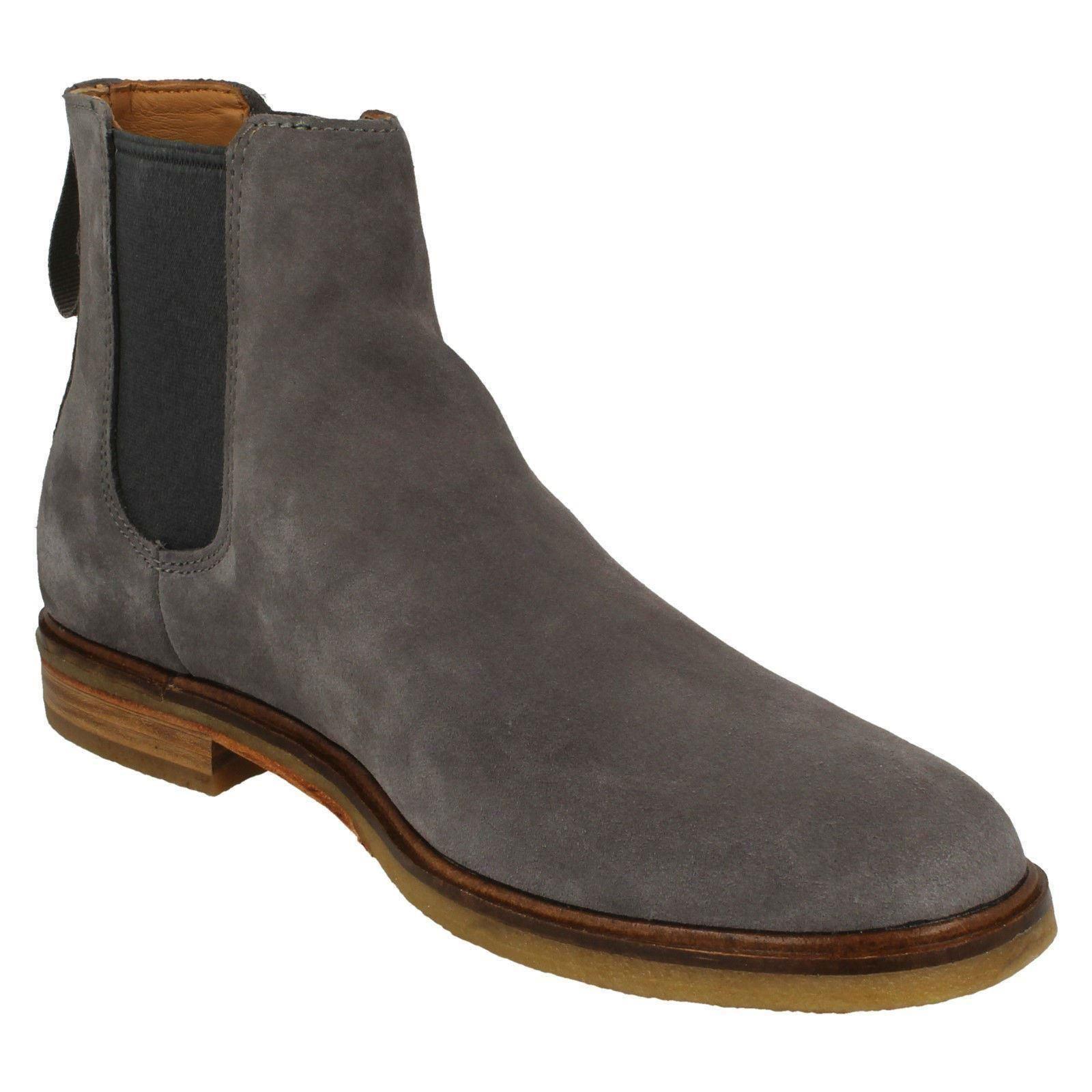 Mens Mens Mens Clarks Chelsea Boots 'Clarkdale Gobi' a619ff