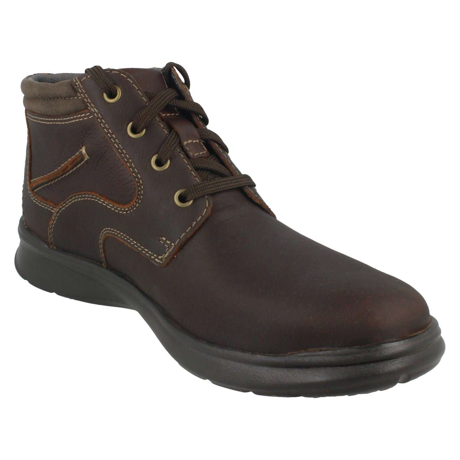 Mens-Clarks-Cotrell-Rise-Casual-Lace-Up-Ankle-Boots thumbnail 17