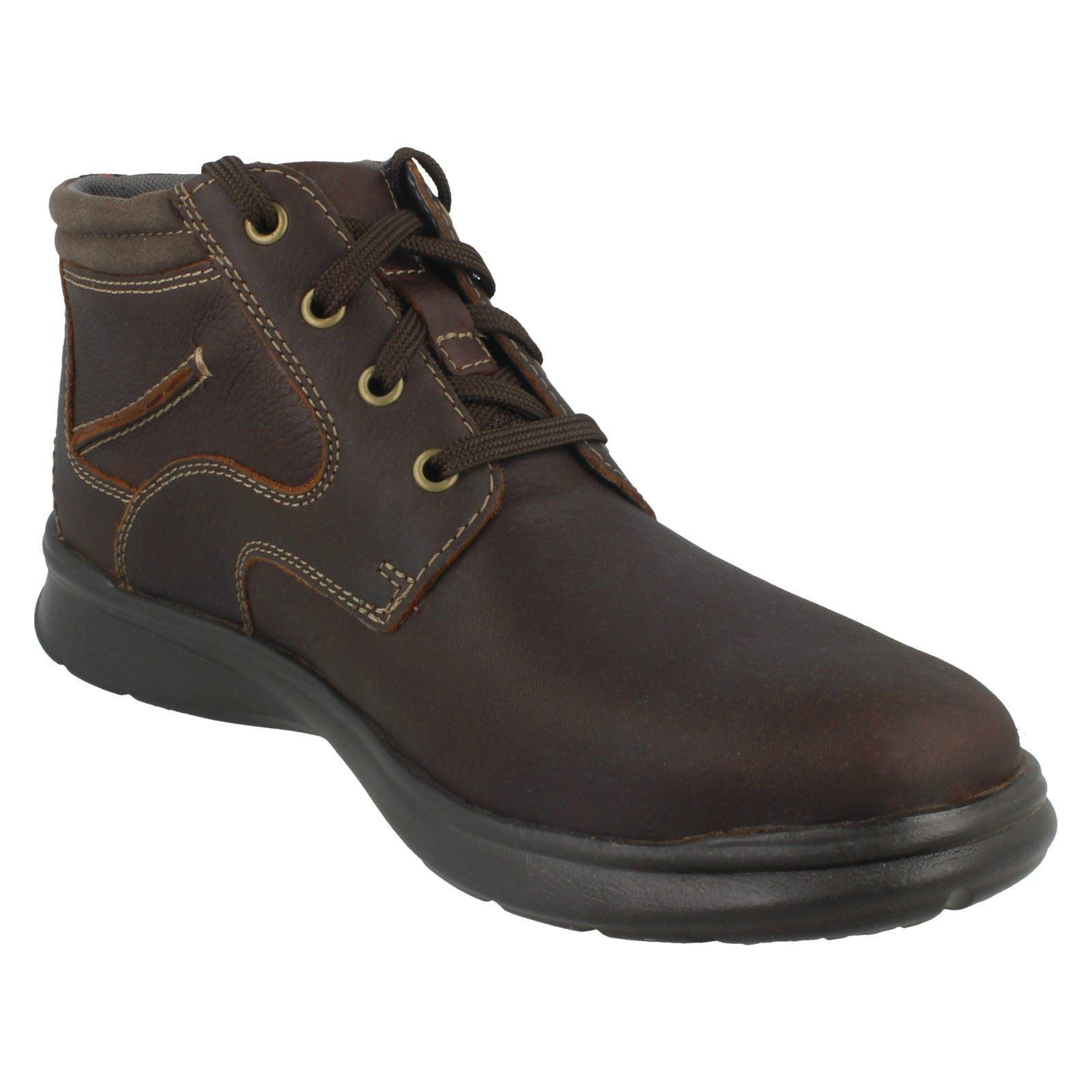 Clarks Hombre Casual Lace Up Ankle botas botas botas Cotrell Rise 9b3c9f