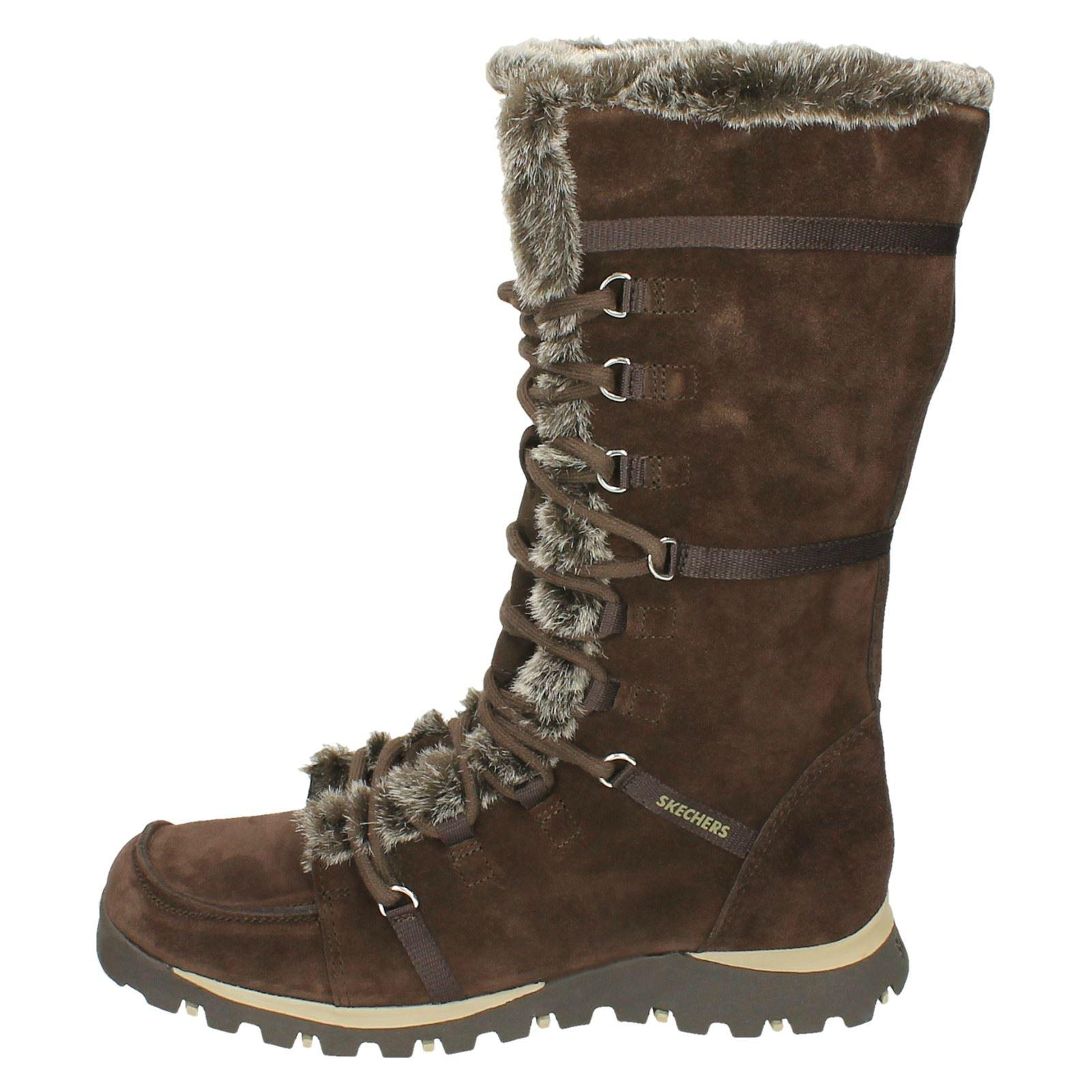 Zapatos especiales con descuento Ladies Skechers Mid Calf Winter Boots Grand Jams Unlimited