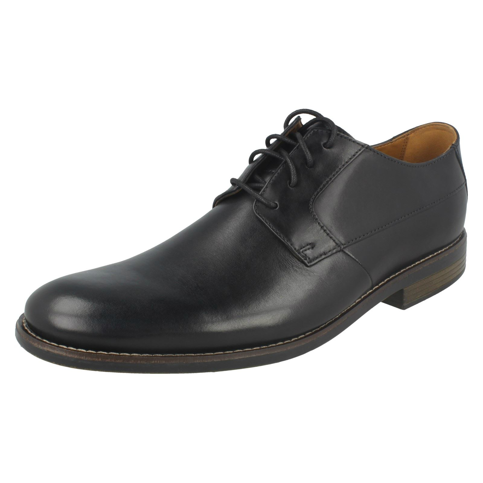 2e1f639fafcb Mens Clarks Formal Lace up Shoes Becken Plain UK 10.5 Black G. About this  product. Picture 1 of 10  Picture 2 of 10 ...