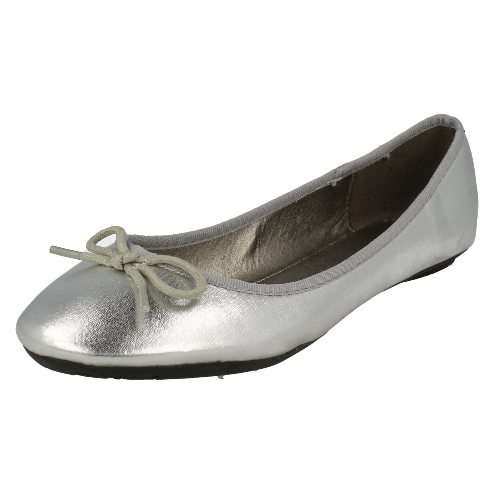 Damas Spot On Informales Zapatos De Ballet F8662
