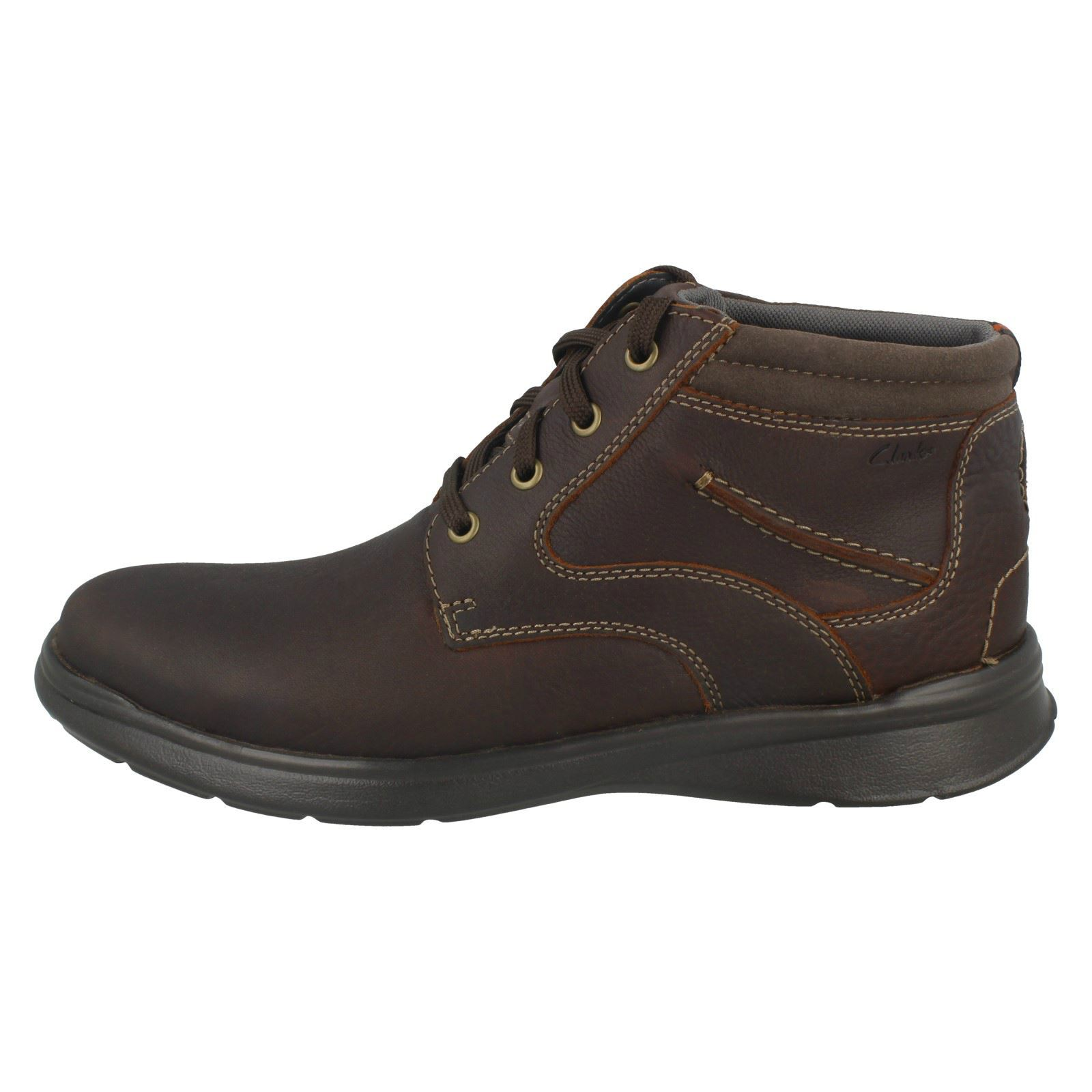 Mens-Clarks-Cotrell-Rise-Casual-Lace-Up-Ankle-Boots thumbnail 12