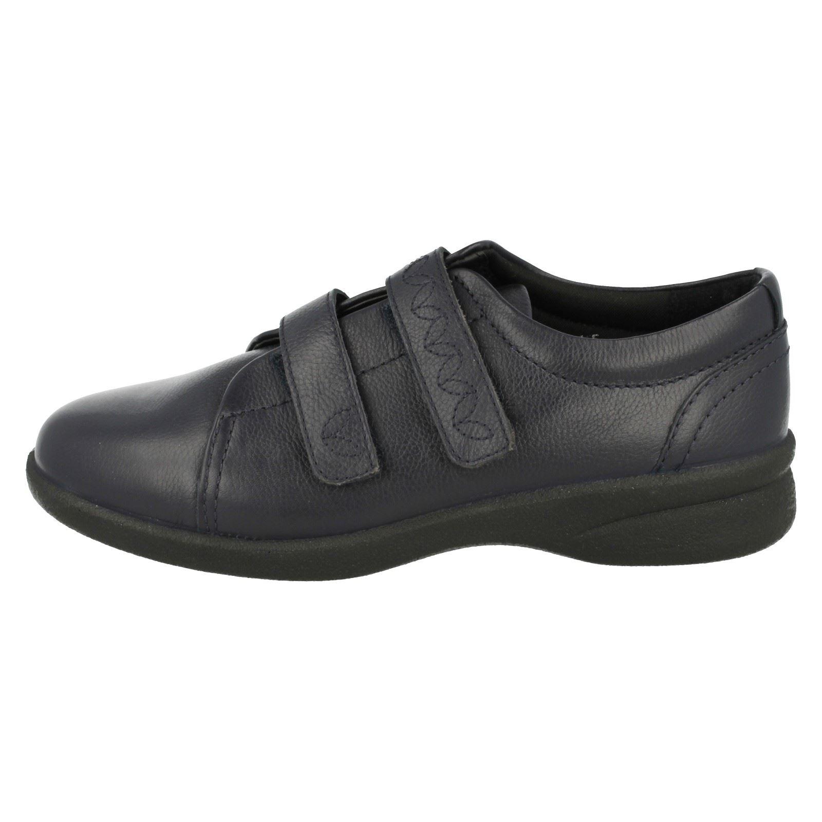 Donna-Padders-doppia-vestibilita-A-STRAPPO-Basse-Scarpe-casual-in-cuoio-Revive