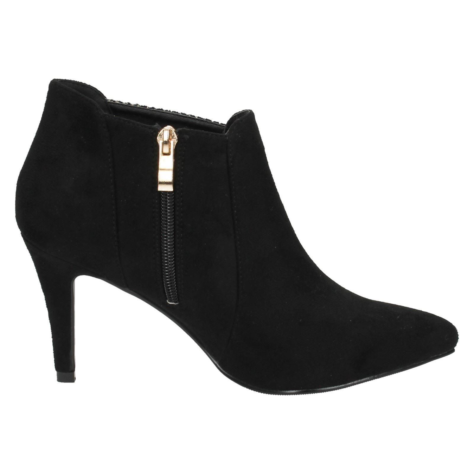 Ladies Anne Michelle Ankle Boots