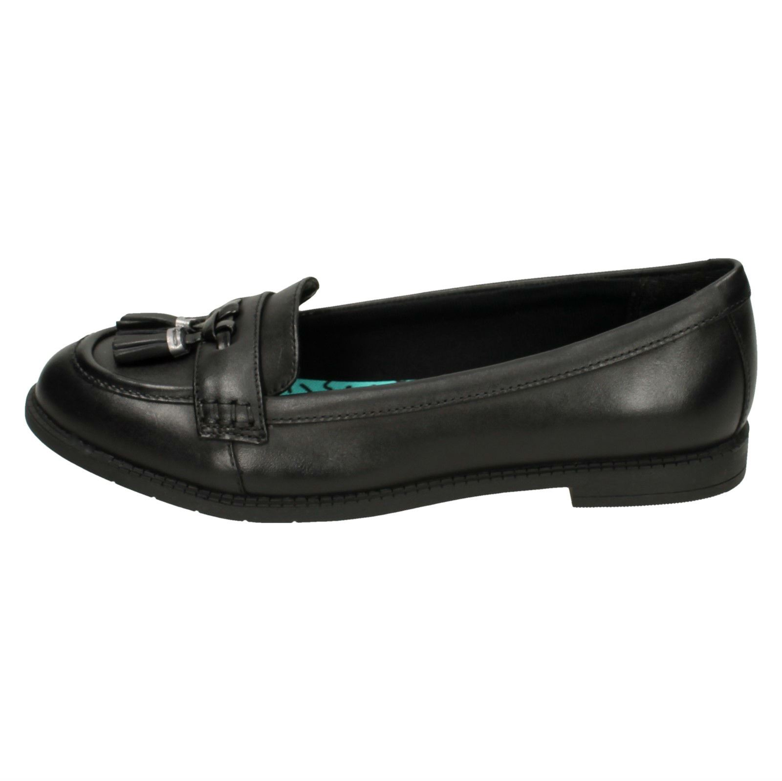 Girls-Bootleg-By-Clarks-Loafer-Style-School-Shoes-Preppy-Edge
