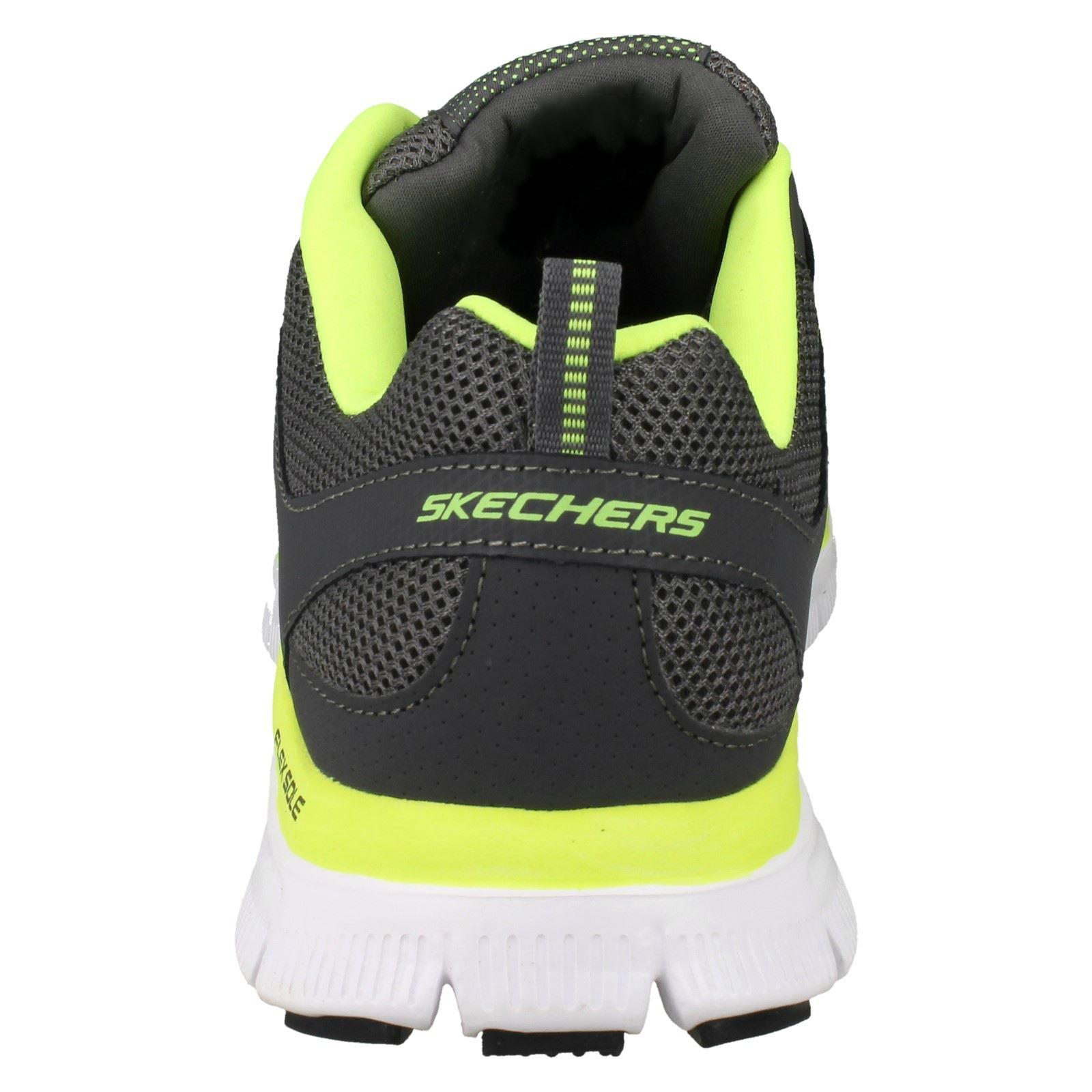 Homme Skechers Flex Advantage 51251 Mousse Mousse Mousse à Mémoire De Forme Baskets | Shop  3ea437