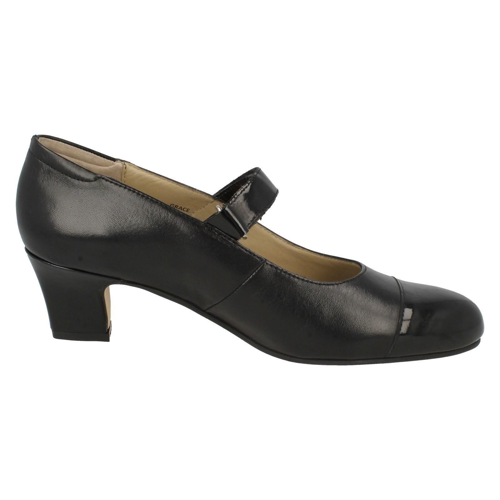 Equity nerovernice Ladies Grace cinturino Smart con Shoes mv8nw0PyNO