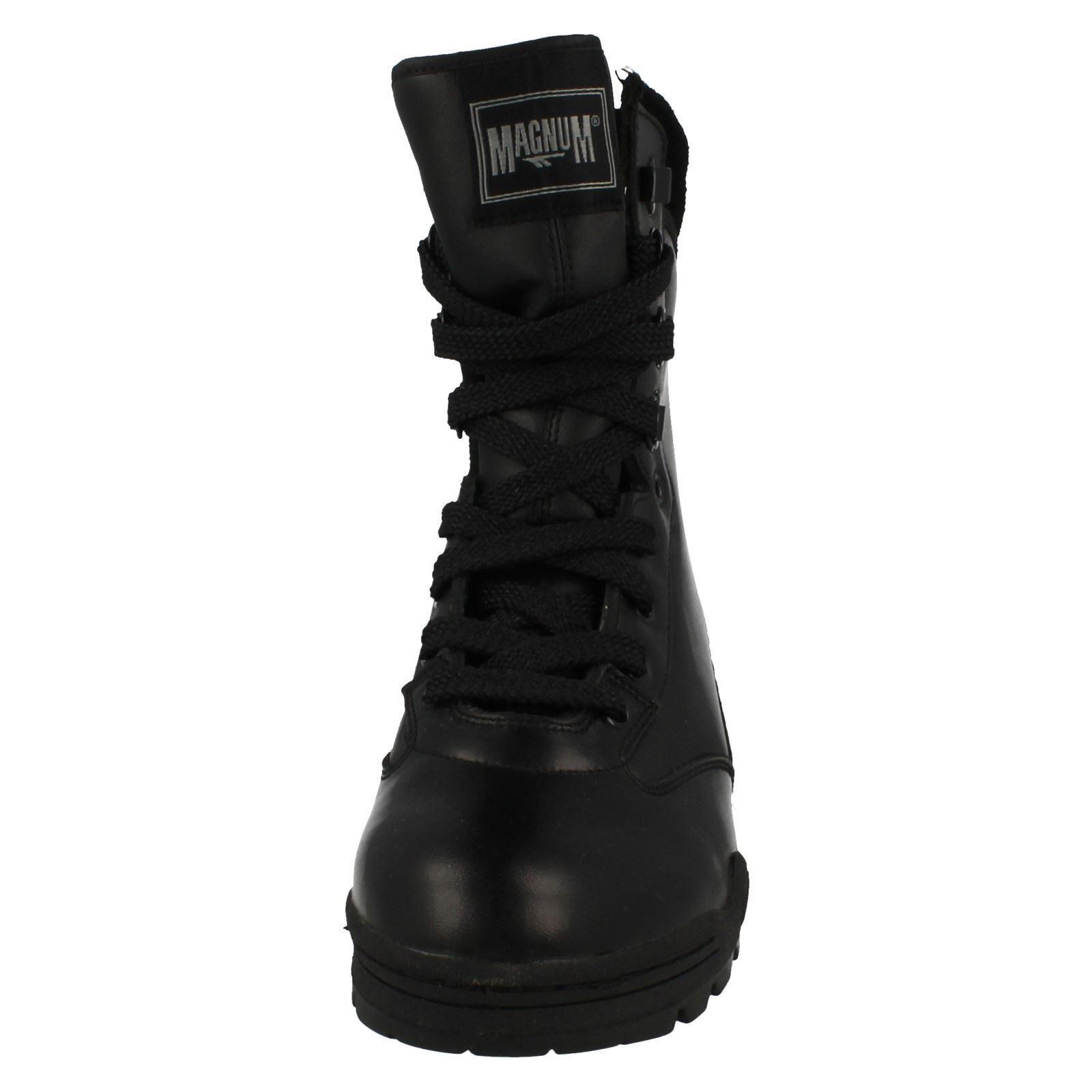 Uomo Leder Magnum Combat Stiefel Magnum Leder Uomo b72f2f