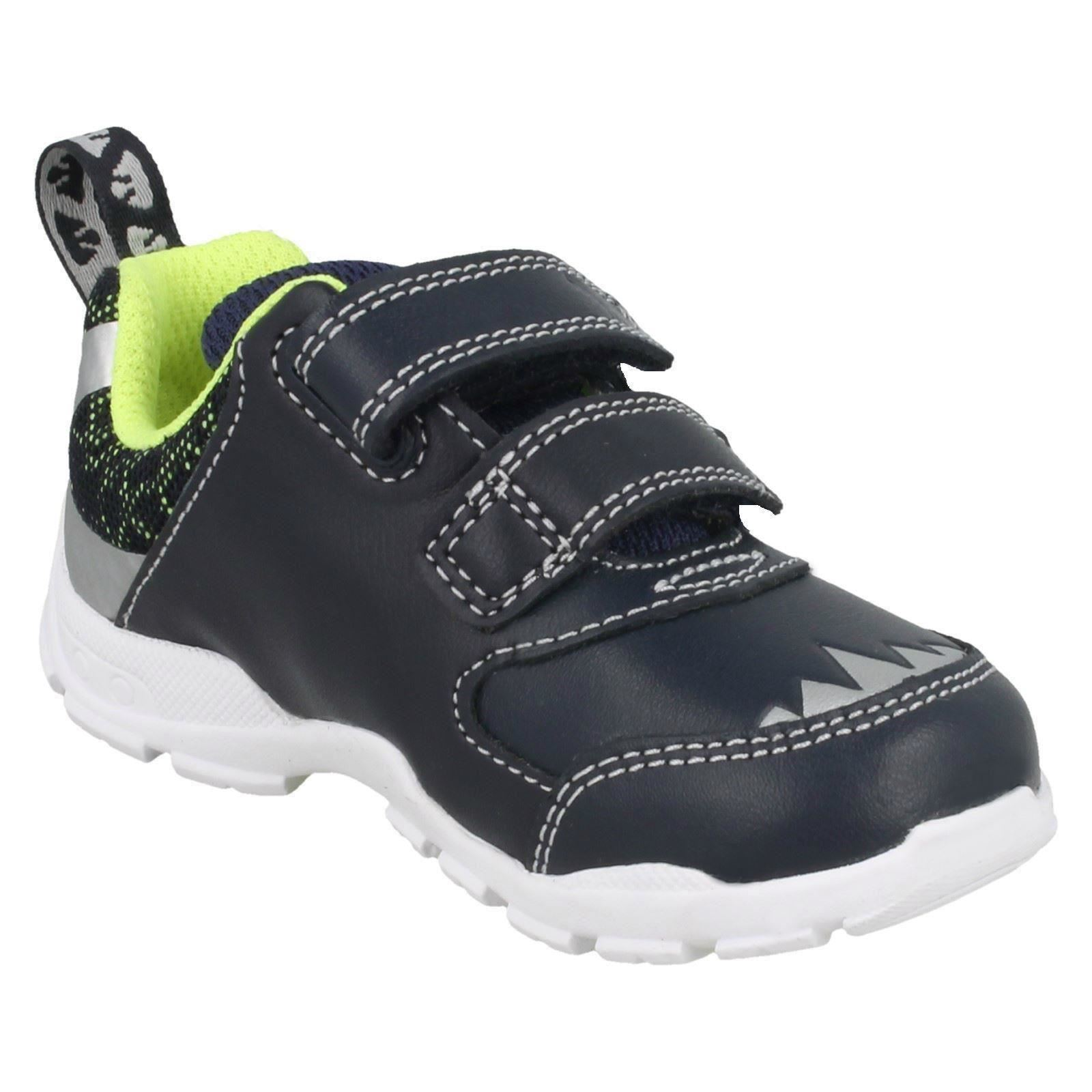 Chicos primero zapatos de Clarks Casual Zapatillas Brite Rex