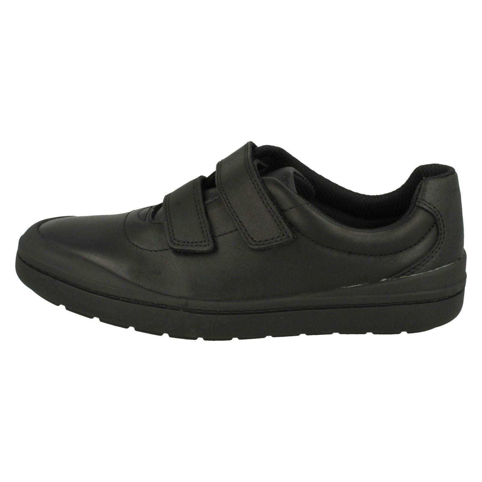 de Clarks sint escolares Smart Zapatillas cuero Hook R7B0nwq