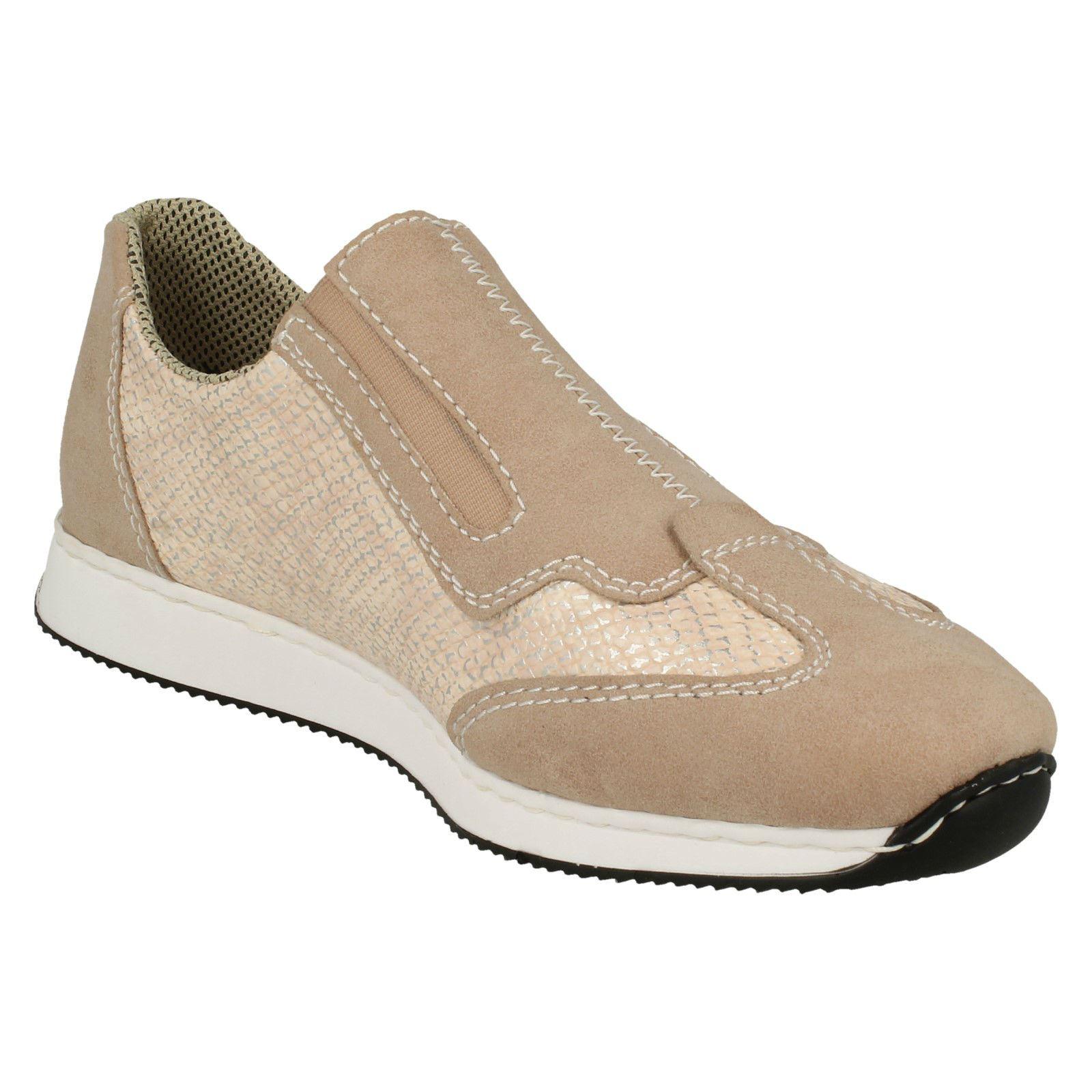 Femmes Rieker Baskets Décontractées Style 56060 Chaussures 56060 Style 942013