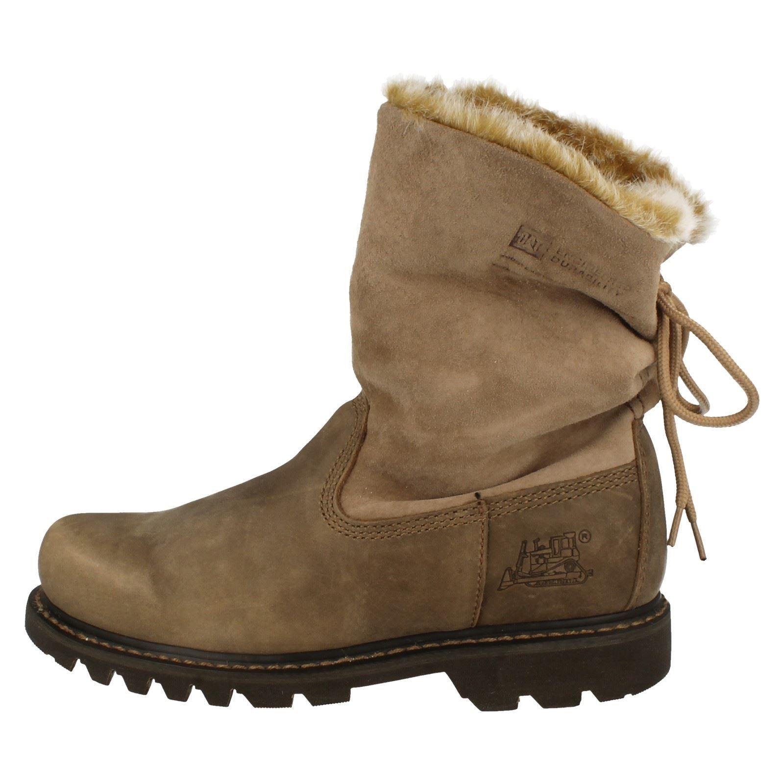 caterpillar ankle boots bruiser scrunch ebay
