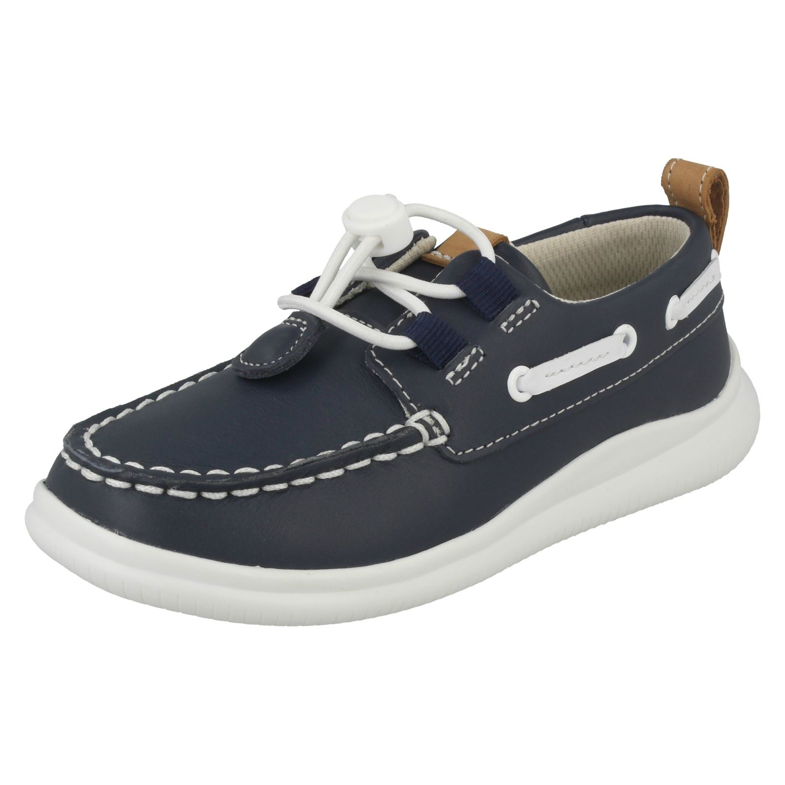Clarks Boys Casual Shoes 'Cloud Swing