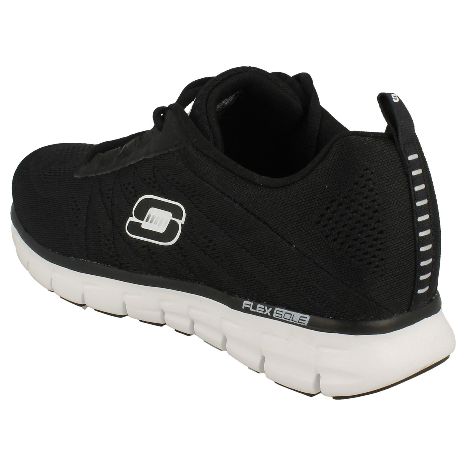 Mens Mens Mens Skechers Sport with Memory Foam Trainers 'Power Switch 51188' e3458f