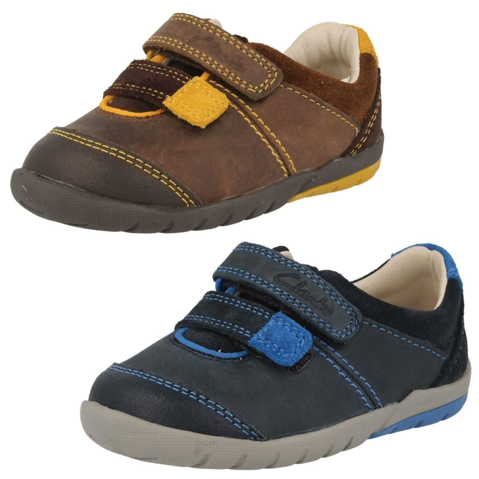 SALE CLARKS BOYS FIRST SHOES /'SOFTLY LO/' GREY