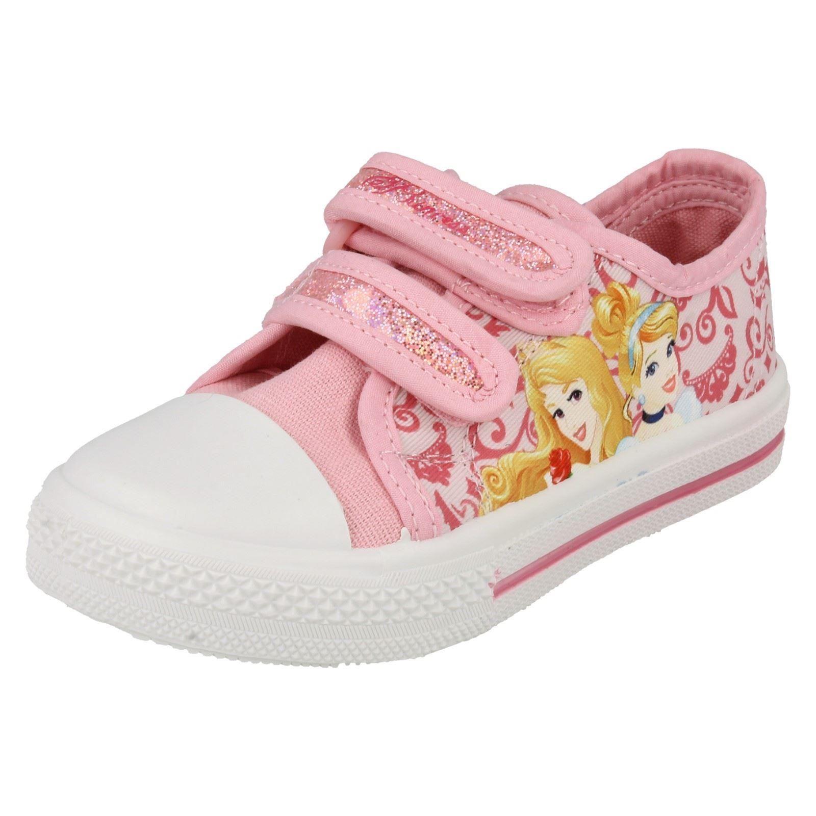 Chicas Personaje Disney Princesa Castilla Zapatos De Lona