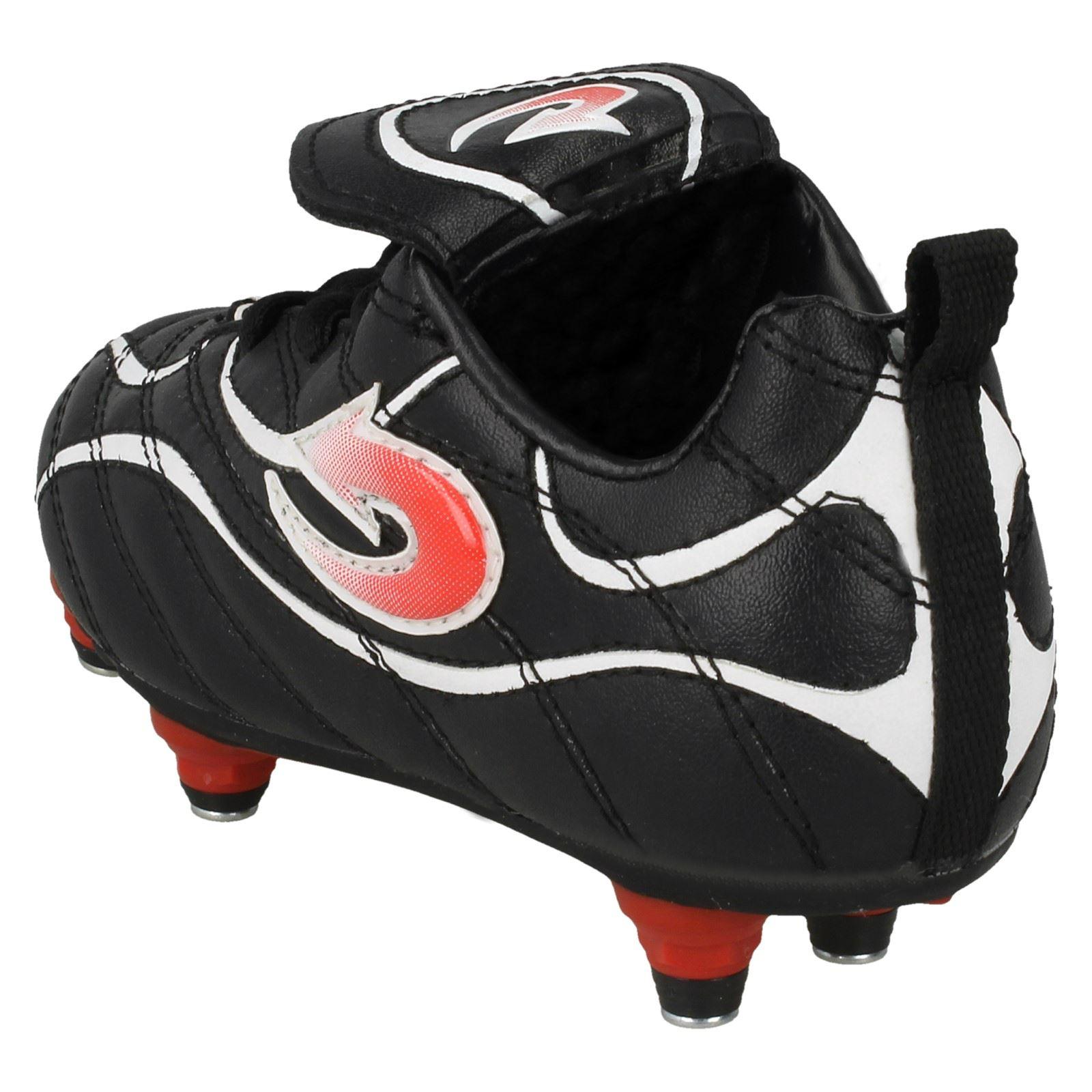 Nero Boots Rosso for Arrow Boy Euphoria Football Bianco Nero PHqqX