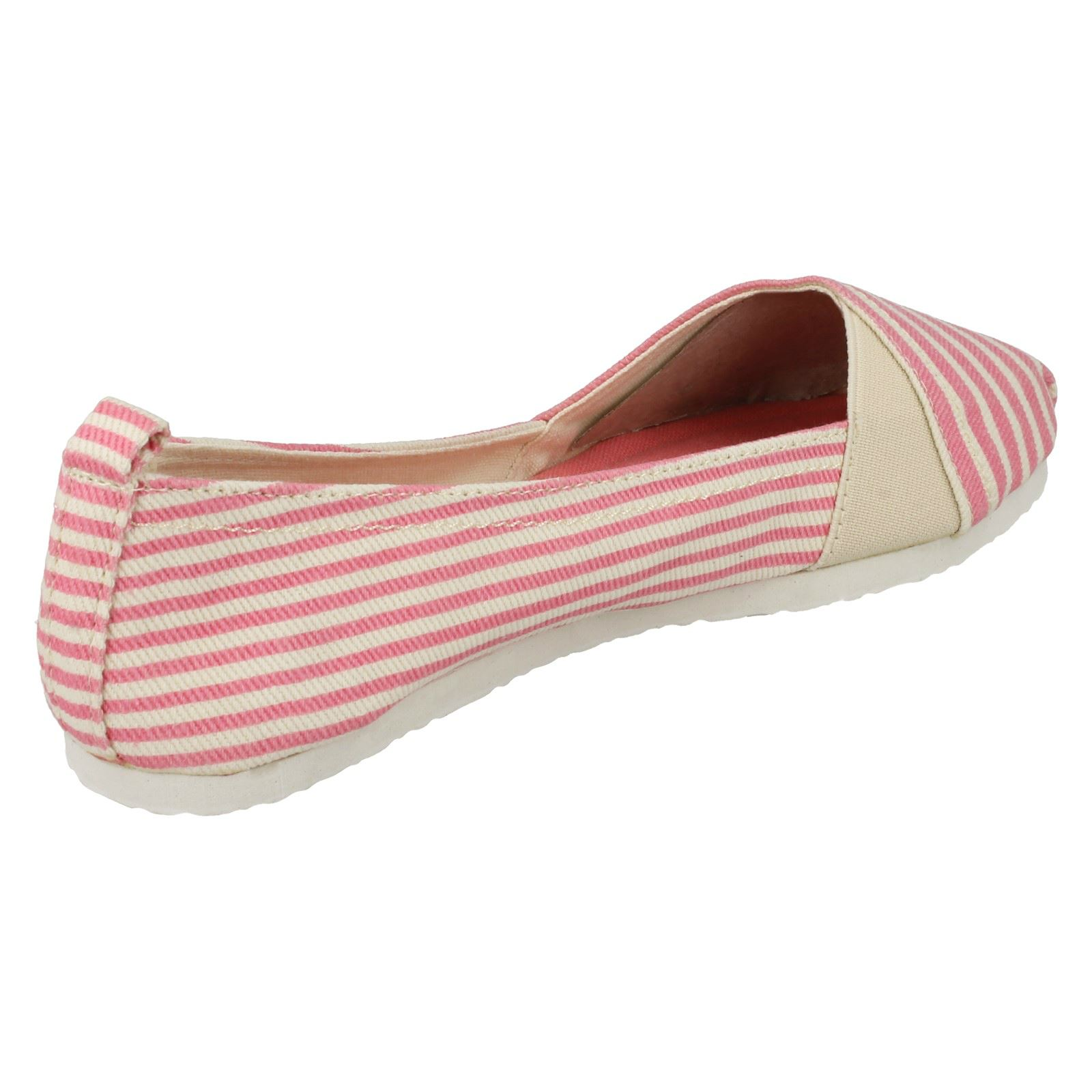 Ladies Spot On /'Casual Pumps/'