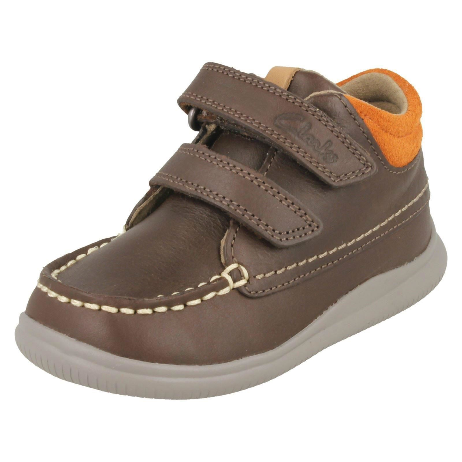 fc6d51b4fbd74e Clarks Cloud Tuktu FST Boys First BOOTS Brown 5½ F. About this product.  Picture 1 of 10  Picture 2 of 10 ...