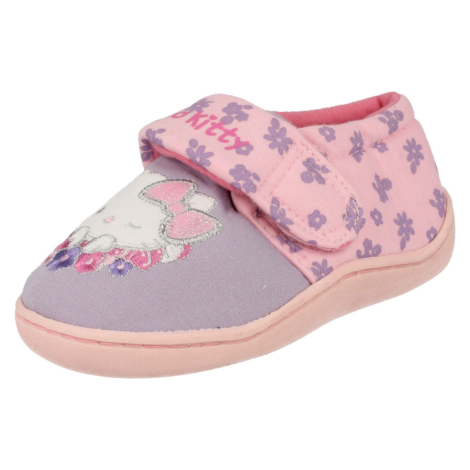 Girls Character Hello Kitty House Slippers