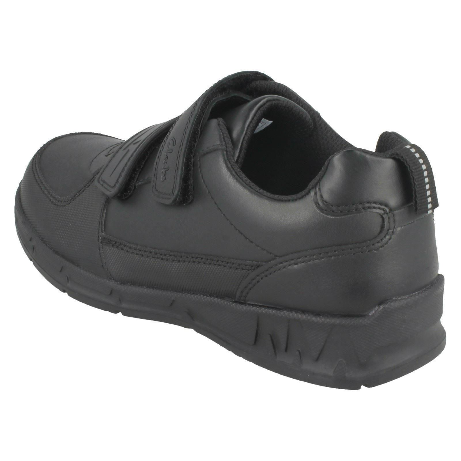 Zapatos escuela para formales de correa Black la con Gloforms doble By Clarks Fire niños Maris qrHWnwrp4