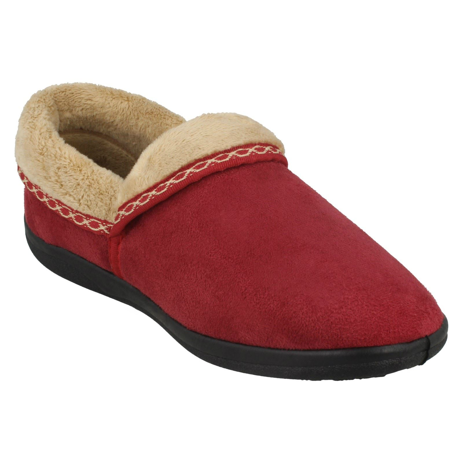 09459c645aaab Ladies-Padders-Slip-On-Wide-Fitting-Slippers-Mellow thumbnail