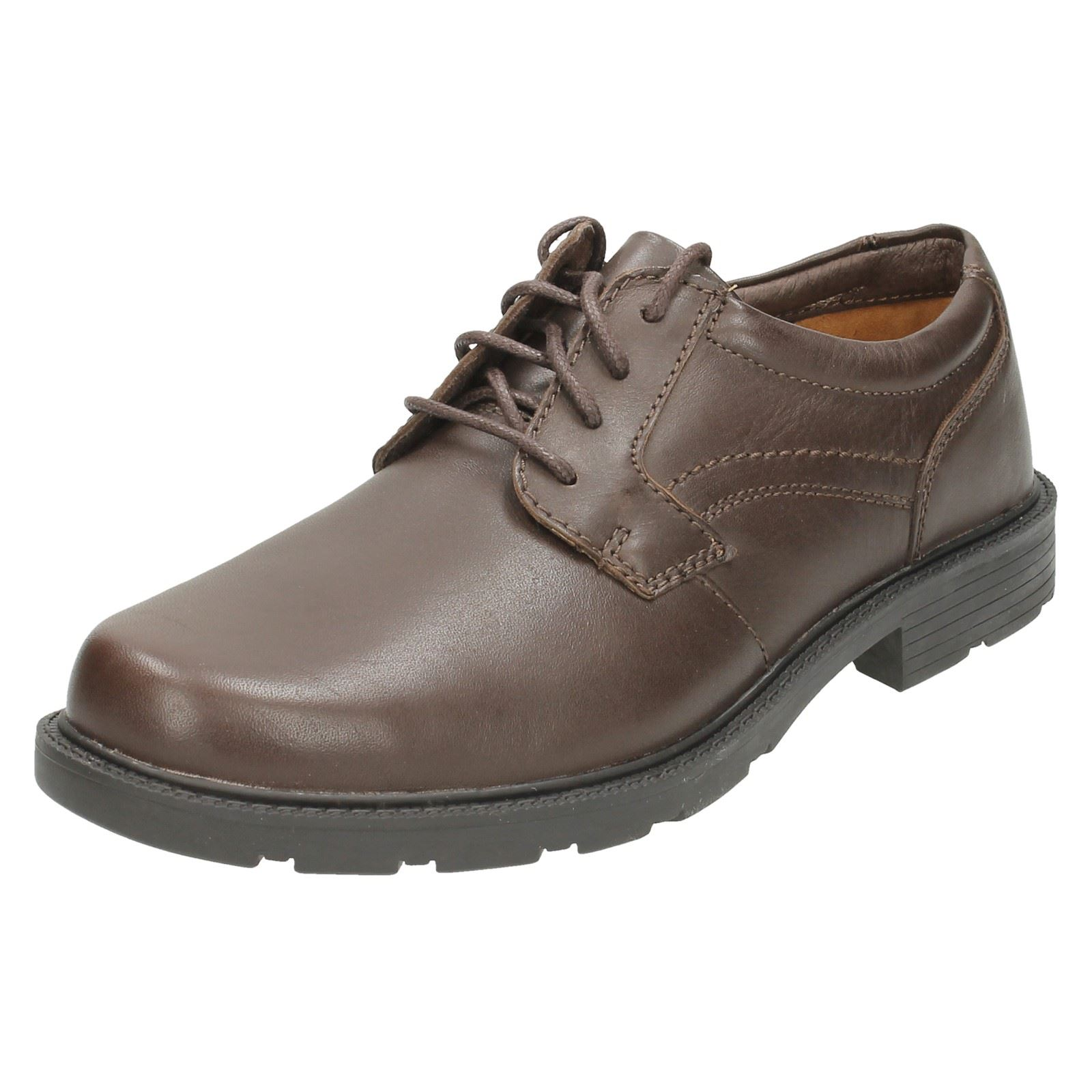 Gate Up Clarks Lace Shoes Lair Brown Mens wSp0fq6S