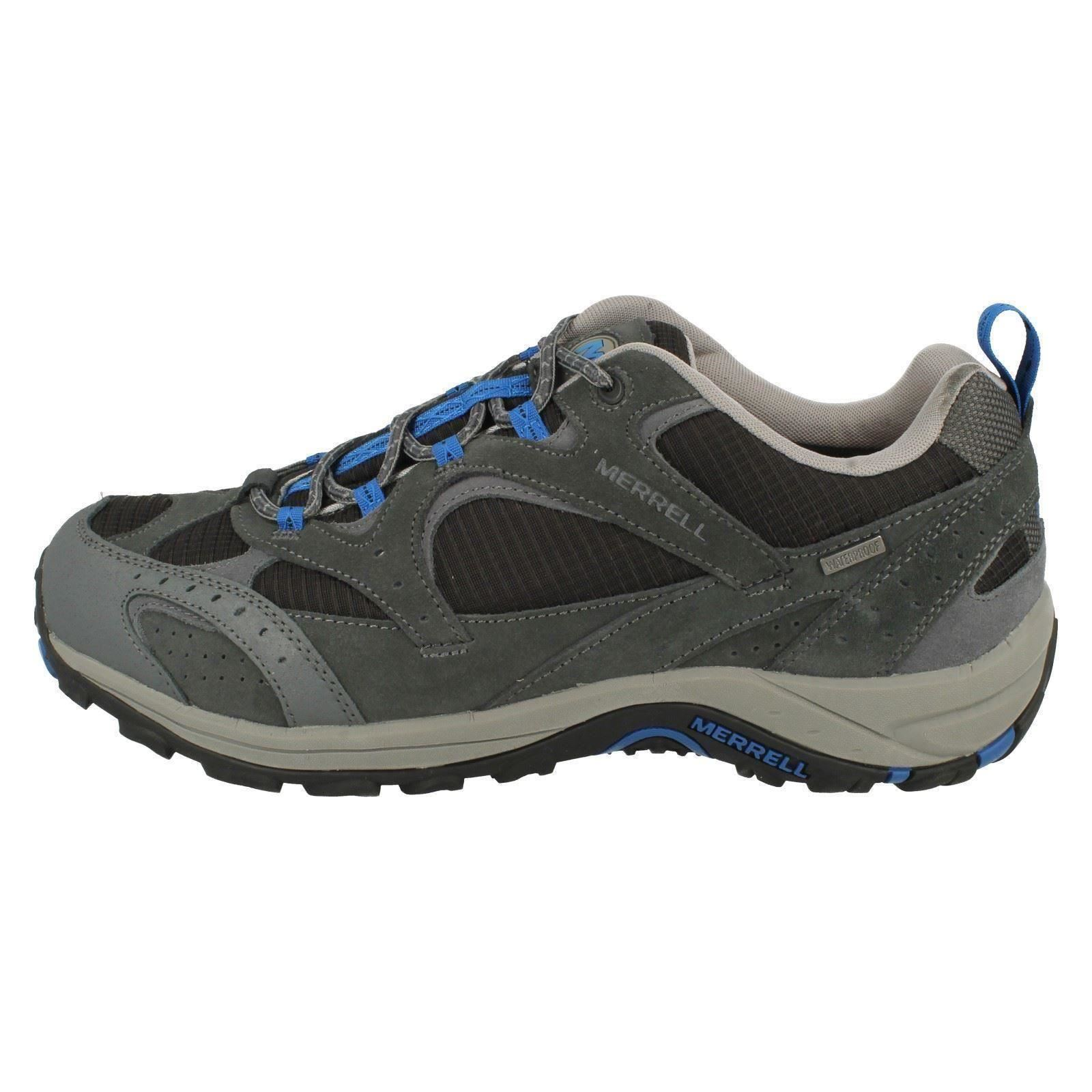 Mens Merrell Casual Lace Vent Up Walking Shoes 'Nova Vent Lace Waterproof' 69a975