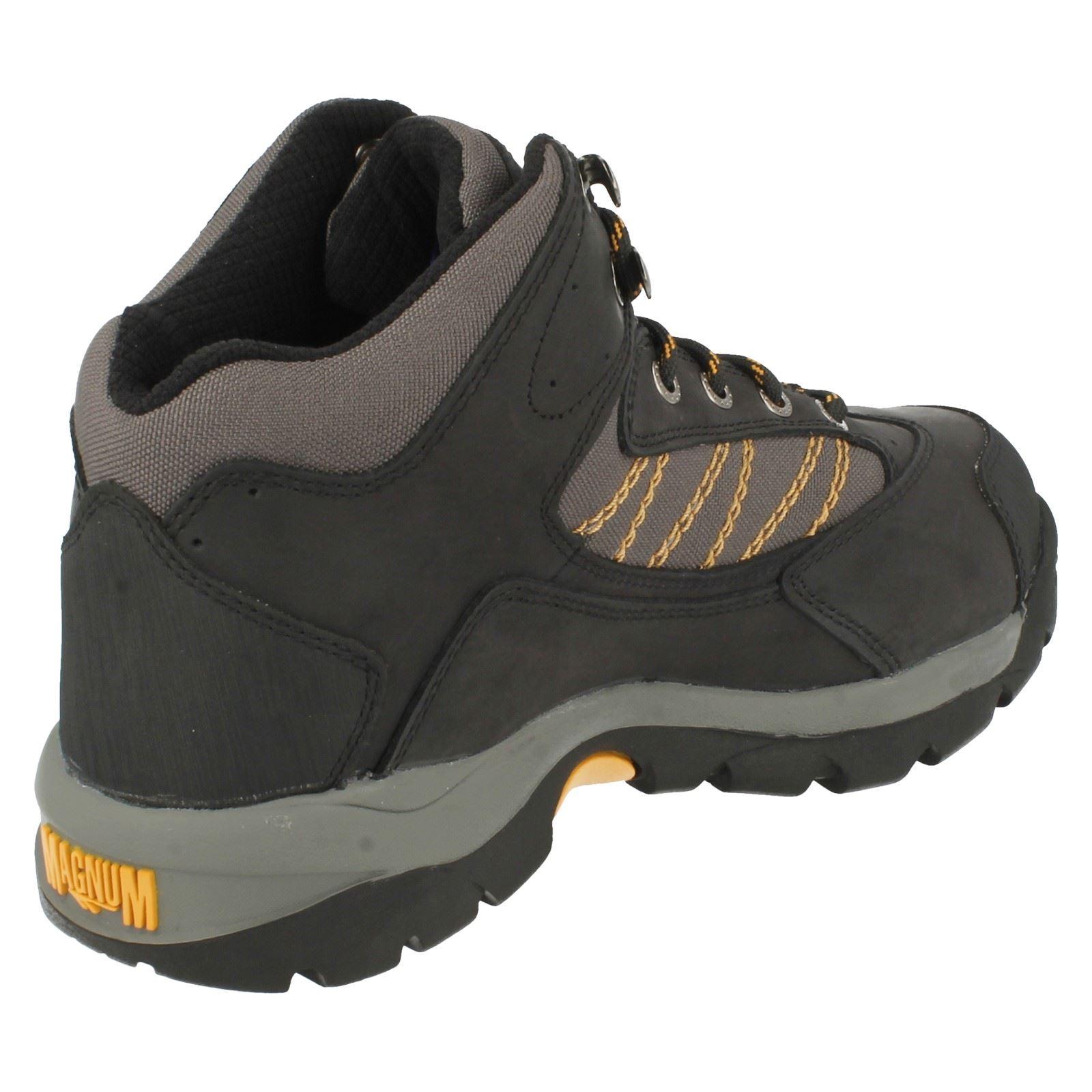Da Uomo Work Magnum in acciaio Puntale Work Uomo Boots Lavoratore