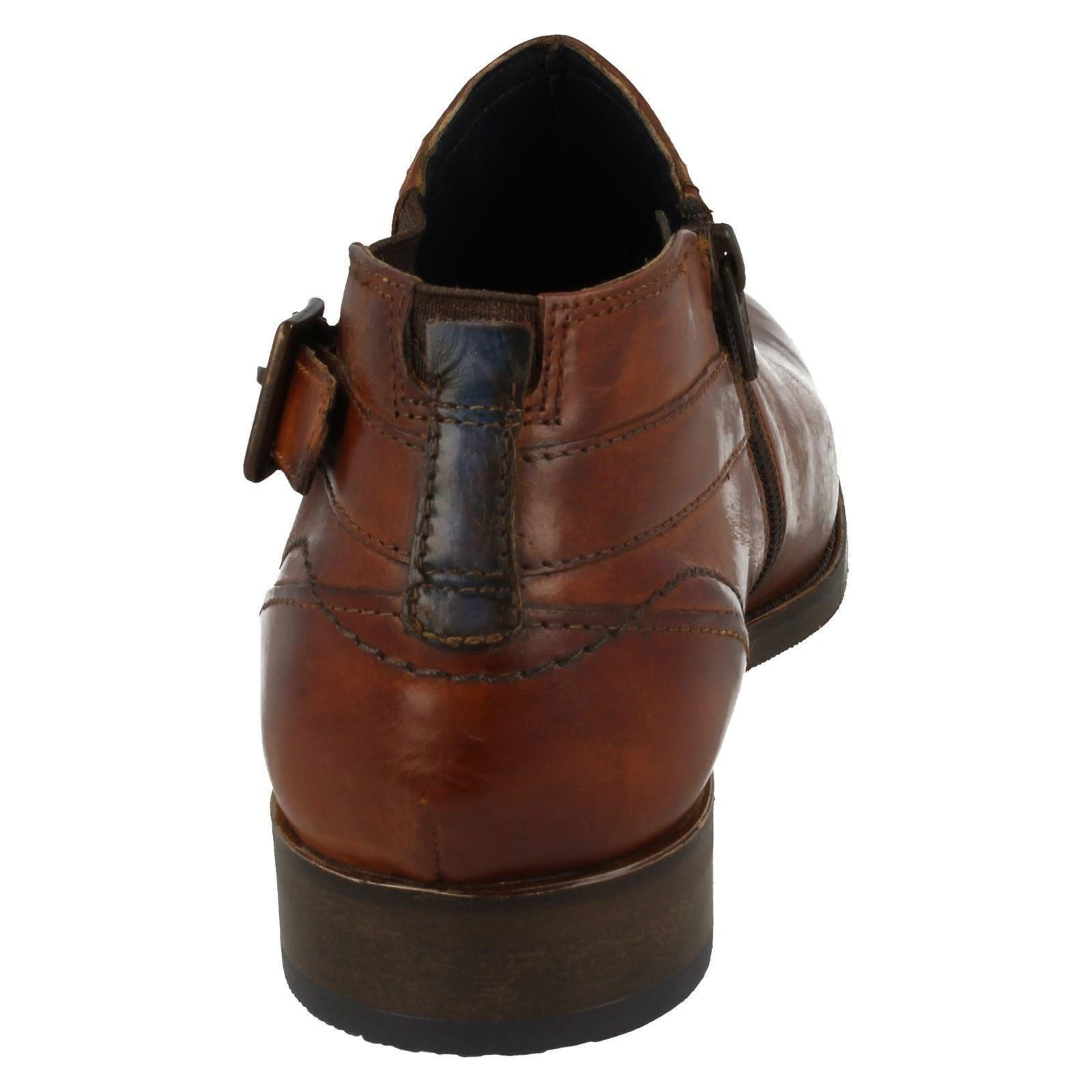 Herren Bugatti Smart Smart Smart Ankle Stiefel 16420 7d1e8e