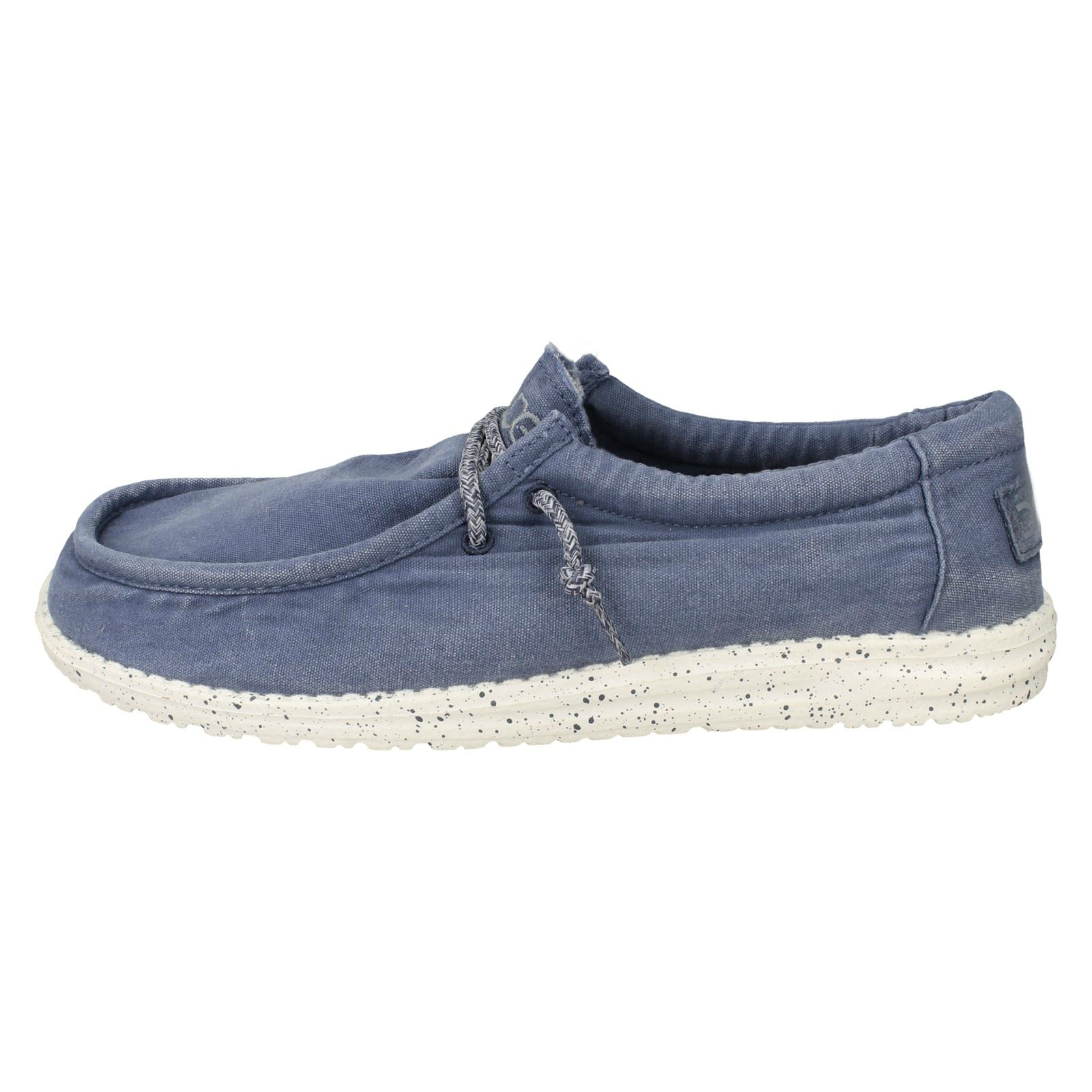 '  Herren Hey Washed Dude' Moccasin Schuhes - Wally Washed Hey 4a3163