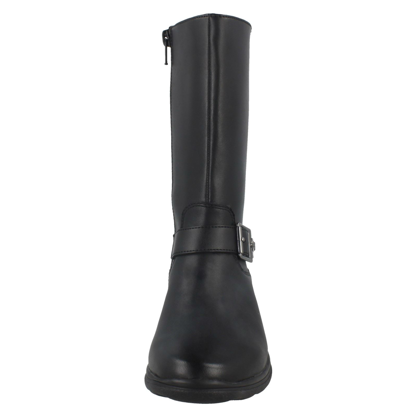Niñas Clarks Negro 'mariel Mid Calf Star' Boots nPnA01qw