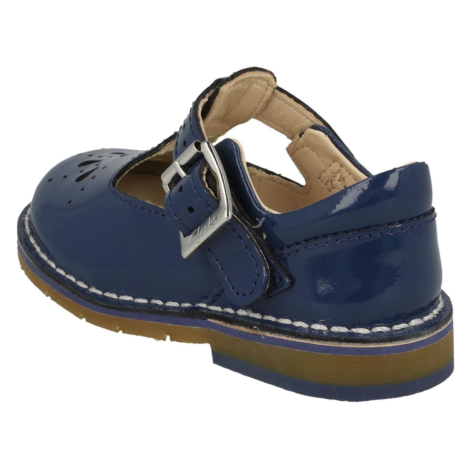 Yarn Smart First Girls Blue Weave Clarks Shoes Casual w7qqX
