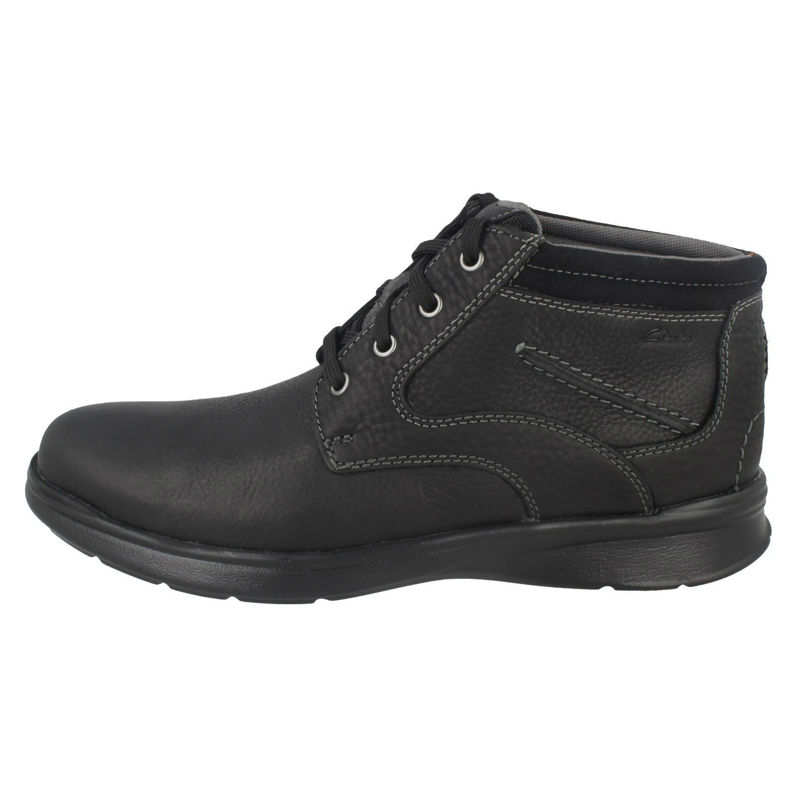 Mens-Clarks-Cotrell-Rise-Casual-Lace-Up-Ankle-Boots thumbnail 3